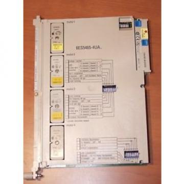 Original SKF Rolling Bearings Siemens Simatic S5 Analog 6ES5 465-4UA12 inkl. 4 Module  –