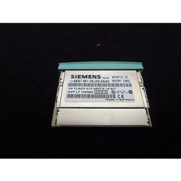 Original SKF Rolling Bearings Siemens T3061 Simatic S7 6ES7 951-0KJ00-0AA0 E-2 Memory Card 512  KBYTE