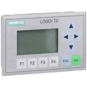 Siemens 6ED1055-4MH00-0BA0 LOGO! TD TEXTDISPLAY, FOR LOGO! FROM ..0BA6, 4 LINES,