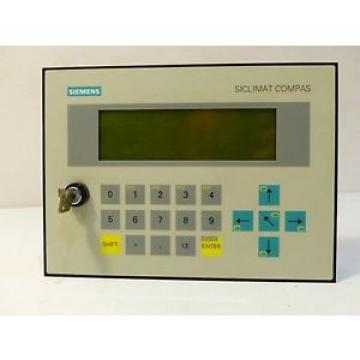 Siemens 6FL3001-5AA02 Siclimat Compas LC – Display mit Montageplatte E Stand 1