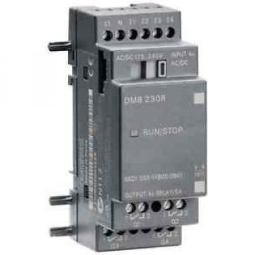 Siemens 6ED1055-1FB00-0BA1 LOGO! DM8 230R, EXP. MODULE, PU/I/O: 230V/230V/RELAIS