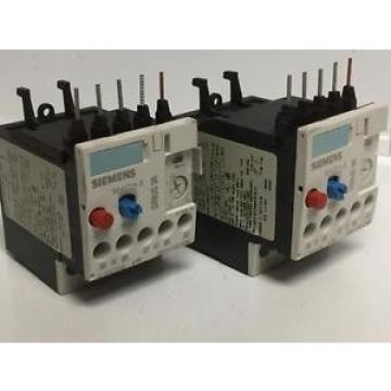 Siemens 3RU1116-1CB0 Thermal Overload Relay Sirius 3R 1.8-2.5 Adjustable Current
