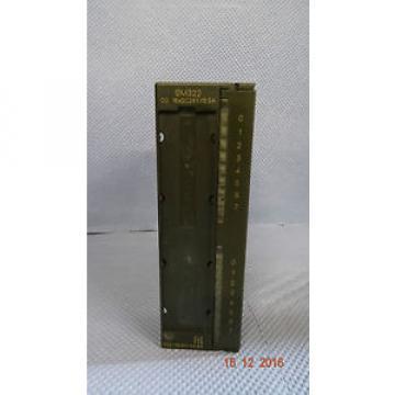 Siemens Simatic S7 6ES7 322-1BH01-0AA0
