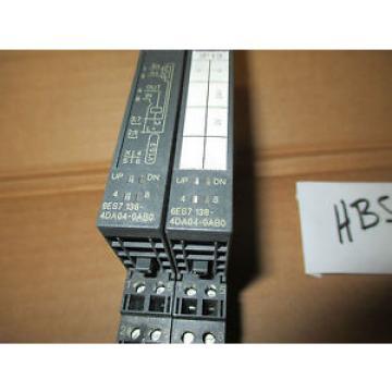 Siemens 2 6ES7 138-4DF01-0AB0 Serial module