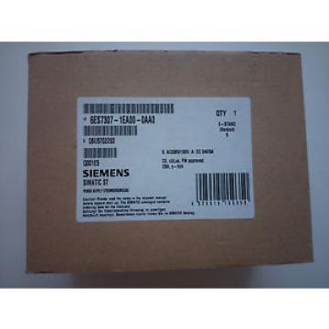 Siemens 6ES7307-1EA00-0AA0 6ES7 307-1EA00-0AA0 6ES7307-1EA01-0AA0