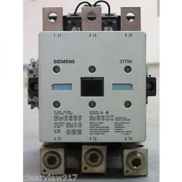 Siemens Contactor 3TF5522-0AV0 3TF55220AV0 3TF55 Amp Contactor
