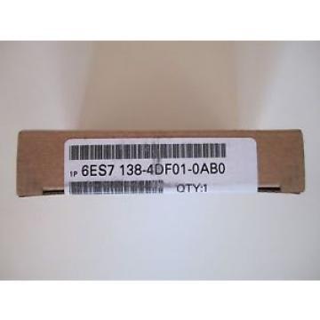 Siemens Simatic 6ES7 138-4DF01-0AB0   NEU und OVP