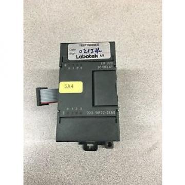 Siemens USED I/O MODULE 6ES7 223-1HF22-0XA0