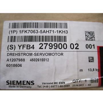 Original SKF Rolling Bearings Siemens NEW 1FK7063-5AH71-1KH3 SERVO  MOTOR