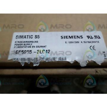 Siemens 6ES5955-3LC42 POWER SUPPLY *NEW IN BOX*