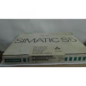 Siemens 6ES5 458-4UA12 Industrial Control System