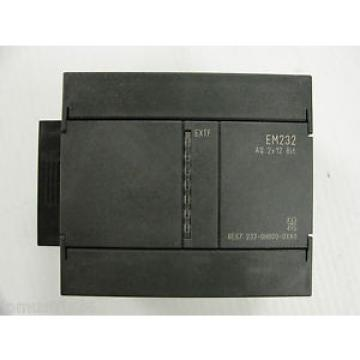Siemens  PLC 6ES7 232-OHB00-0XA0