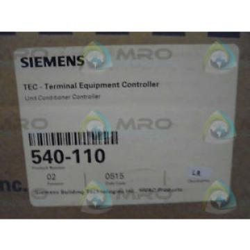 Siemens 540-110 UNIT CONDITIONER CONTROLLER *NEW IN BOX*