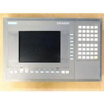 Siemens 6FC5203-0AB10-0AA0 Bedientafel OP 031 mit 6FC5210-0DA20-0AA1