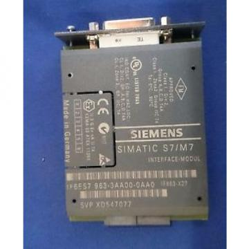 Original SKF Rolling Bearings Siemens 6ES7963-3AA00-0AA0 SIMATIC S7-400 IF963-X27 RS-422/485 Interface  Module