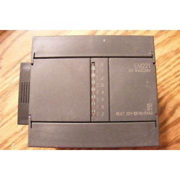 Siemens  6ES72211BF000XA0 EM221 Input Module 6ES7221-1BF00-0XA0