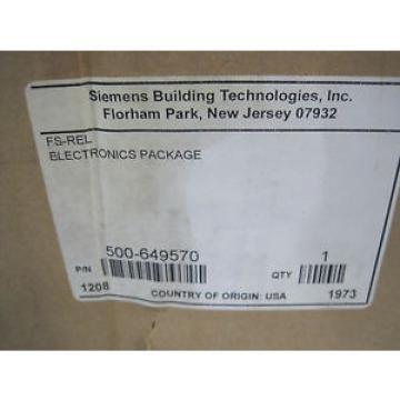Siemens NEW FS-REL RELEASING MODULE FSREL