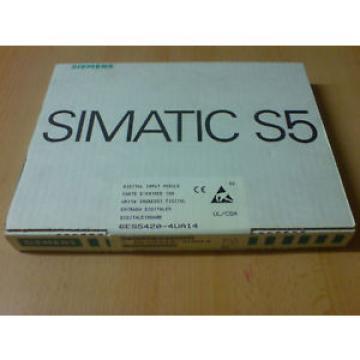 Siemens S5 6ES5 420-4UA14 Simatic 6ES5420-4UA14