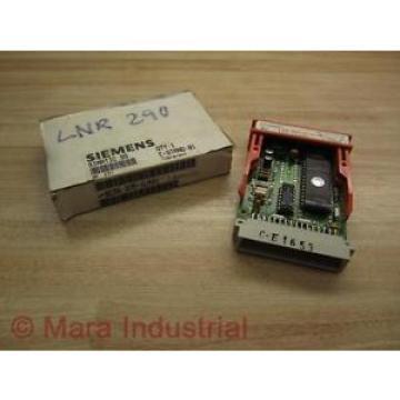 Siemens 6ES5 375-1LA41 Memory Module