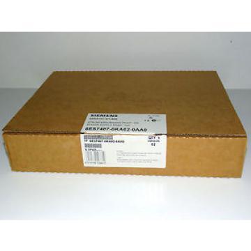Siemens Simatic S7 6ES7407-0KA02-0AA0 PS407 10A Power Supply /Neu