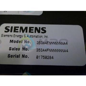 Siemens 353A4FNNNNNNNA4 PROCESS AUTOMATION CONTROLLER *NEW NO BOX*