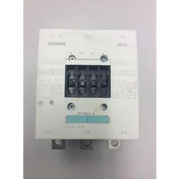 Siemens Sirius 3RT1054-6AF36 Contactor w/ 3RH1921-1DA11 w/o Box