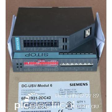 Siemens  6EP1931-2DC42 SITOP UPS with USB Interface.