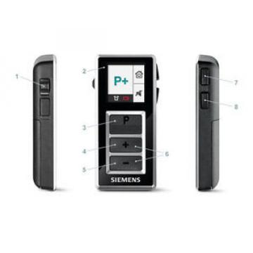 Siemens Easy Pocket remote control for hearing aids Life, Pure, Motion