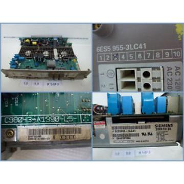 Siemens 6ES5 955-3LC41, 6ES5955-3LC41