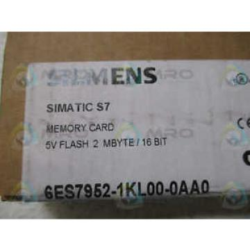 Siemens SIMATIC S7 6ES7-952-1KL00-0AA0 FLASH MEMORY CARD *FACTORY SEALED*