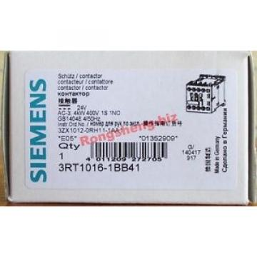 Siemens  3RT10161BB41 3RT1016-1BB41 DC24V
