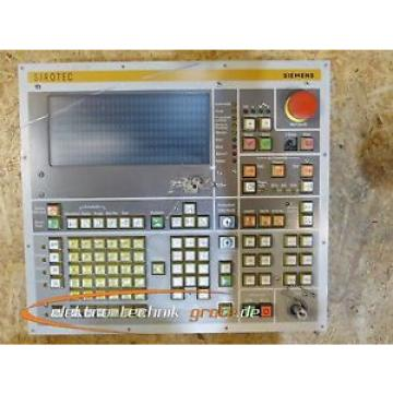 Siemens 6FR1440-2TA Bedientafel