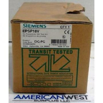 Siemens Power Supply EPSP18V VL POWERSTICK 18V Test Kit DG-PG Frames NEW!