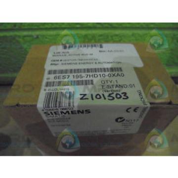 Original SKF Rolling Bearings Siemens 6ES7 195-7HD10-0XA0 *FACTORY  SEAL*