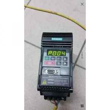 Siemens 6SE9 213-6BA40 Micromaster 6SE9213-6BA40