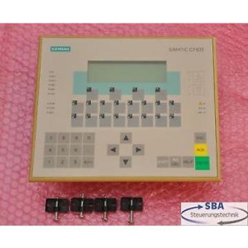 Siemens Simatic C7-633 DP Kompaktsteuerung Typ 6ES7 633-2BF02-0AE3