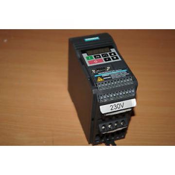 Siemens Micromaster Vector 6SE3213-6BA40