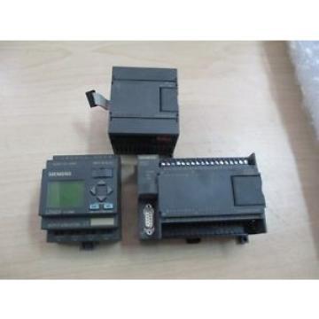 Siemens LOGO! 230RC With Simatic S7-200 & 231-0HC22-0XA0
