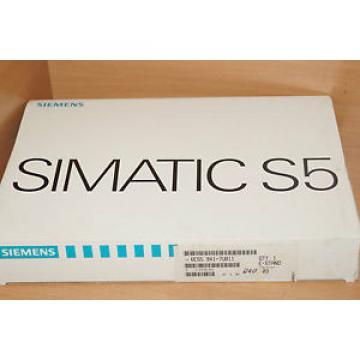 Siemens  S5 6ES5 921-7UB11 E-Stand: 03 6ES5921-7UB11