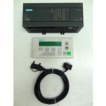 Siemens SIMATIC S7-200 CPU 214 MODULE & SIMATIC S7 TD200 DISPALY COMBO