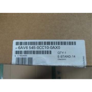 Original SKF Rolling Bearings Siemens 1 PC In Box PLC 6AV6 545-0CC10-0AX0  6AV6545-0CC10-0AX0