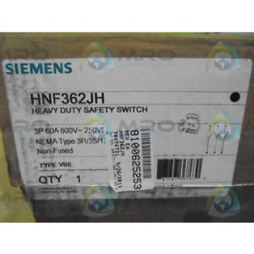 Original SKF Rolling Bearings Siemens HNF362JH SWITCH *FACTORY  SEAL*