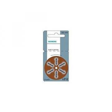 Original SKF Rolling Bearings Siemens Hearing Aid Batteries – 10 Pads  S312