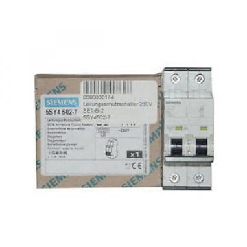 Original SKF Rolling Bearings Siemens 5SY4502-7 C2 Leitungsschutzschalter 230V 10kA 1+N-polig 1+N  NEW