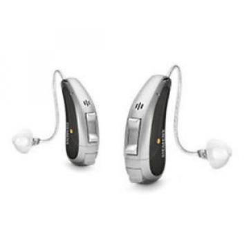 Siemens 2 Signia Pure Primax 5px RIC Hearing Aids Aid + easyTek, charger, TV