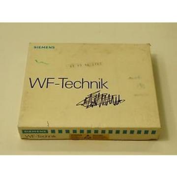 Original SKF Rolling Bearings Siemens 6FM1725-3BA00 WF725B  Positionierbaugruppe
