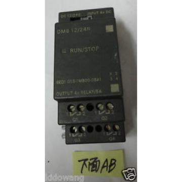 Original SKF Rolling Bearings Siemens LOGO Expansion Module DM8 12/24R 6ED1  055-1MB00-0BA1