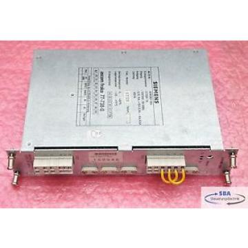 Siemens Ascom fraco 77-738-0 Sinumerik 800 Stromversorgung Typ 6EW1861-3BA
