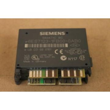 Siemens 6ES7123-1FB00-0AB0 MODULE