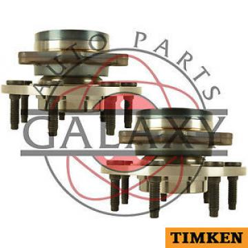 Timken  Pair Front Wheel Hub Assembly Fits Ford F-150 2000-2001